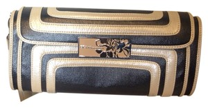 BCBGeneration Black And Bone Clutch