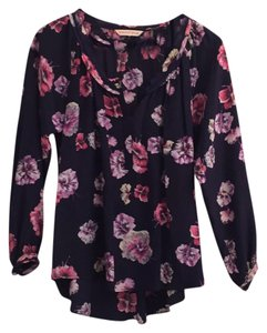 Rebecca Taylor Top Navy/floral
