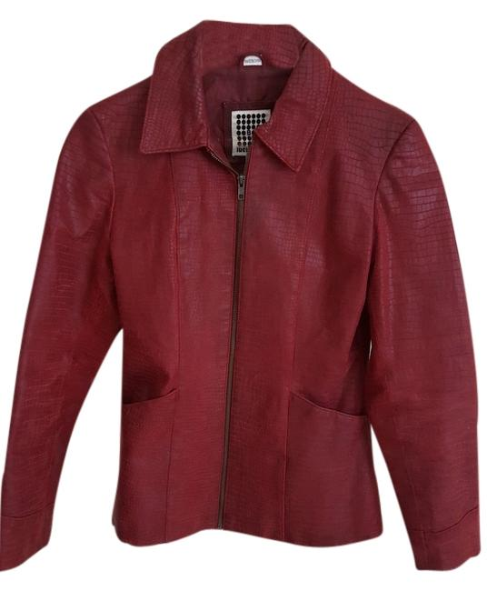 Preload https://img-static.tradesy.com/item/9845155/red-snake-print-leather-jacket-size-4-s-0-1-650-650.jpg