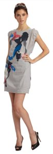 Marc by Marc Jacobs short dress Grey With Multicolor Applique on Tradesy