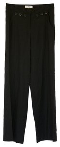 Tibi Wool Wide Leg Pants black