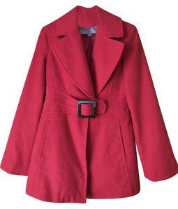 Jessica Simpson Buckle Pea Coat