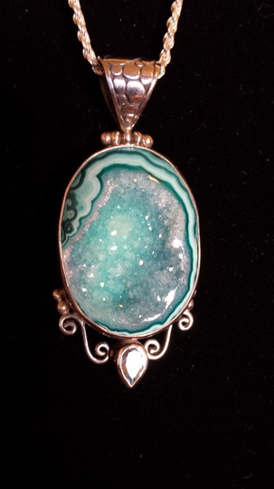 Other Druzy Quartz Pendant
