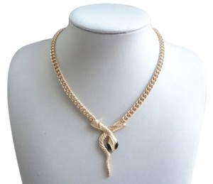 Avatar Imports GOLD SNAKE PENDANT NECKLACE