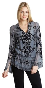 Hale Bob Silk Burnout Tunic