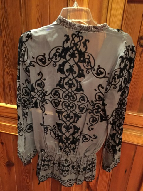 Hale Bob Silk Embellished With Tags Tunic