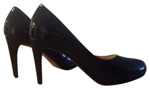 Cole Haan Heels Patent Leather Black Patent Pumps