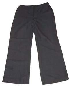Ann Taylor Wool Flare Pants Grey