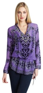 Hale Bob Silk Embellished New With Tags Tunic