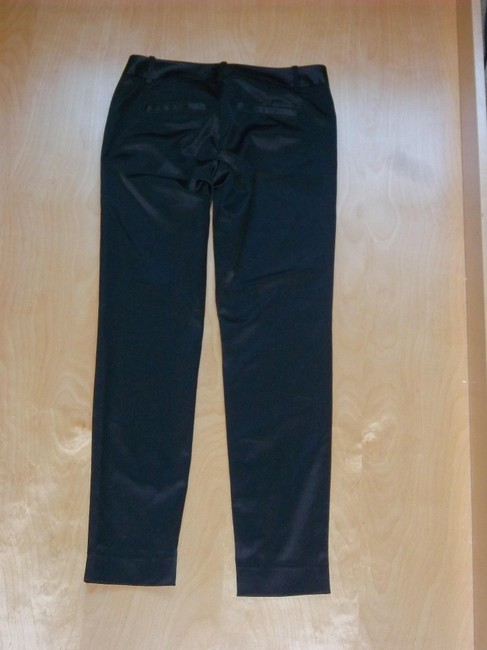 The Limited Straight Pants Black