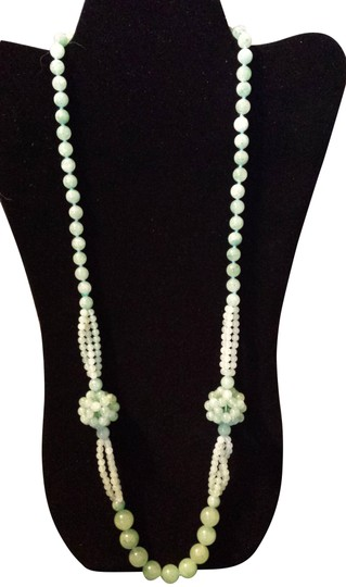 Other Long Green Jade Necklace