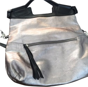 Foley + Corinna Tote in Pewter/black