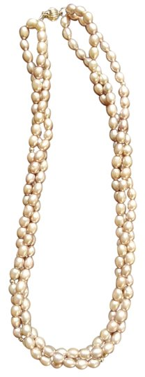 Other 14K Fresh Water Pearl 3 Strand Necklace