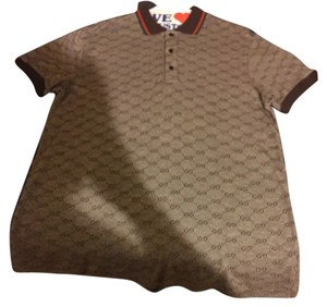 Gucci T Shirt Brown