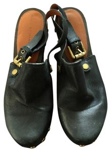 Marc by Marc Jacobs Black Mules