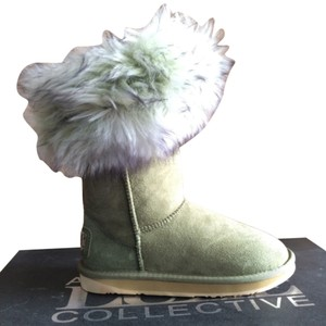 Australia Luxe Collective Sage Green Boots