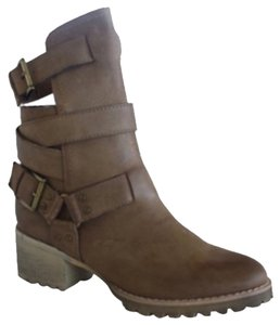 Von Dutch Taupe, Tan Boots
