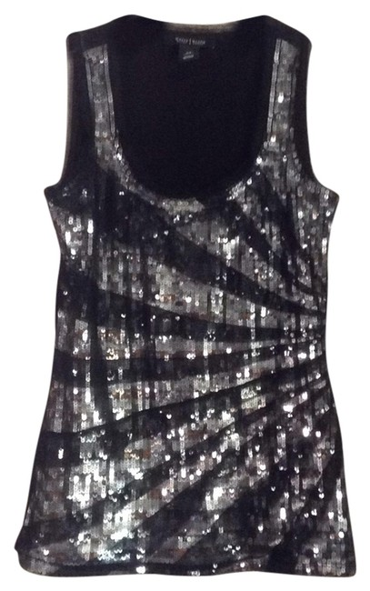 Item - with Silver Sequins Top