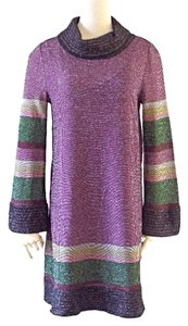 M Missoni short dress purple on Tradesy