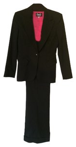 Dolce&Gabbana Italian Black Business Suit
