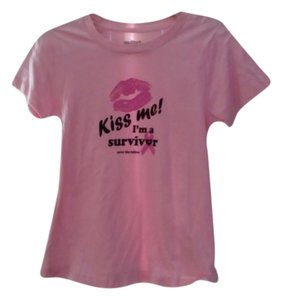 Save the Tatas T Shirt Pink