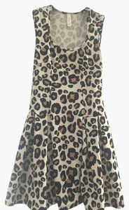 Lovely Day Leopard Print Cocktail Dress