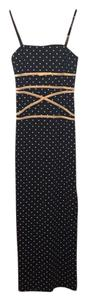 Polka Dot Maxi Dress by Linda Bernell