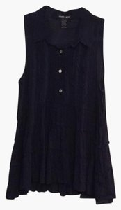 About A Girl Top Navy