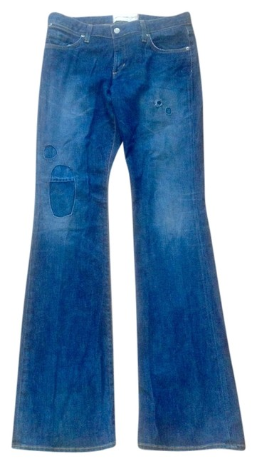 Preload https://img-static.tradesy.com/item/9851482/paper-denim-and-cloth-blue-distressed-boot-cut-jeans-size-29-6-m-0-1-650-650.jpg