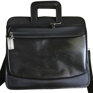 Targus Leather Ballistic Nylon Padded Interior Laptop Bag