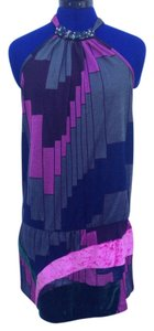 Custo Barcelona Top Purple, pink & gray multi