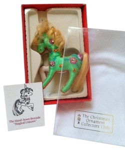 collectors club Hand made Christmas ornament