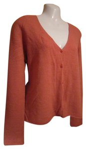 Eileen Fisher Button Down Shirt Salmon