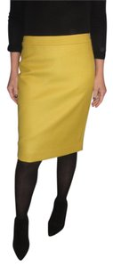 J.Crew Wool Skirt Goldenrod