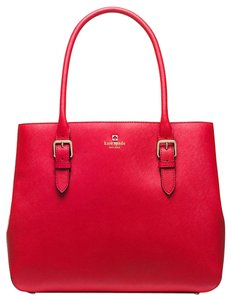 Kate Spade Tote in Poppy Red ( Really Fabulous color )