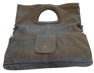 Berge Leather Suade Shoulder Bag