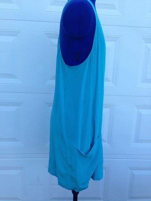 Joie short dress Turquoise on Tradesy