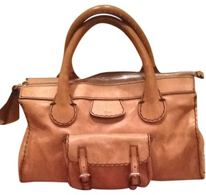 Chloe Satchel in Tan