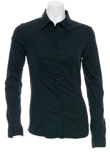 Prada Button Down Blouse Shirt Button Down Shirt Dark forest green
