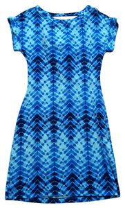 Tart short dress Blue Summer on Tradesy