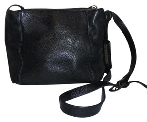 Jones New York Leather Shoulder Bag