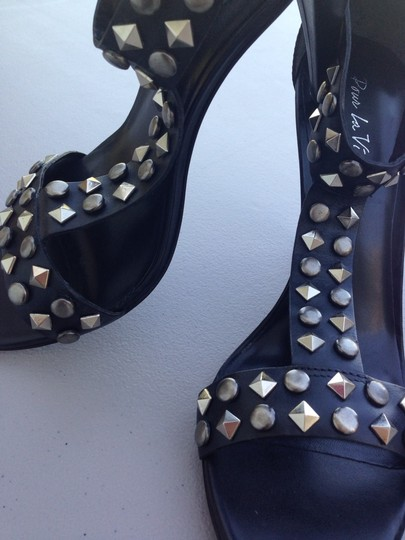 Dolce Vita Black with Studs Sandals