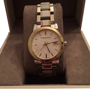 Burberry Burberry Small Check Stamped Bracelet Watch