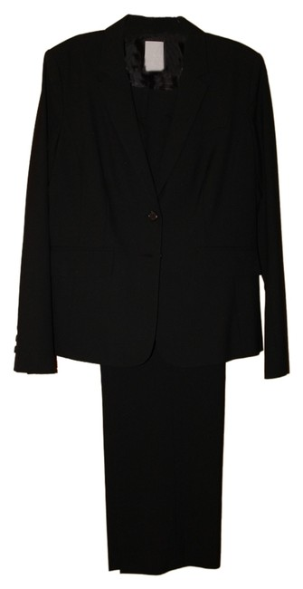 Preload https://img-static.tradesy.com/item/9855508/halogen-black-two-button-pant-suit-size-12-l-0-1-650-650.jpg