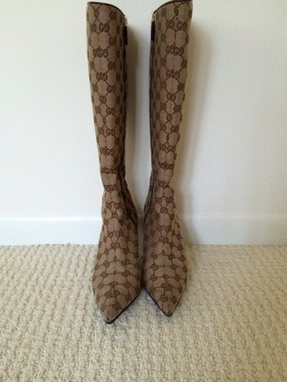 Gucci Brown and tan Boots