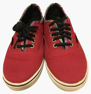 Vans Red, rainbow Athletic