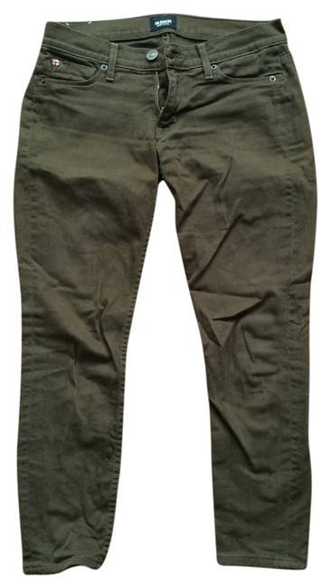 Item - Olive Green and Black Dark Rinse (Two Pairs) Skinny Jeans Size 25 (2, XS)
