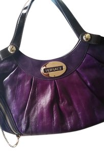 Versace Satchel in purple