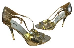 Guess By Marciano Silver Sandals