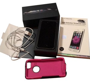 Apple IPHONE 5 INCLUDING PINK CASE AND HIGH DEFINITION TEMPERED GLASS